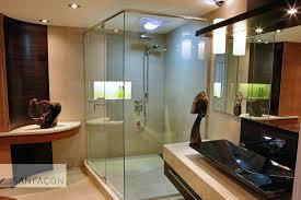 Entamer la renovation d une salle de bain ma d co sph re for Douche contemporaine